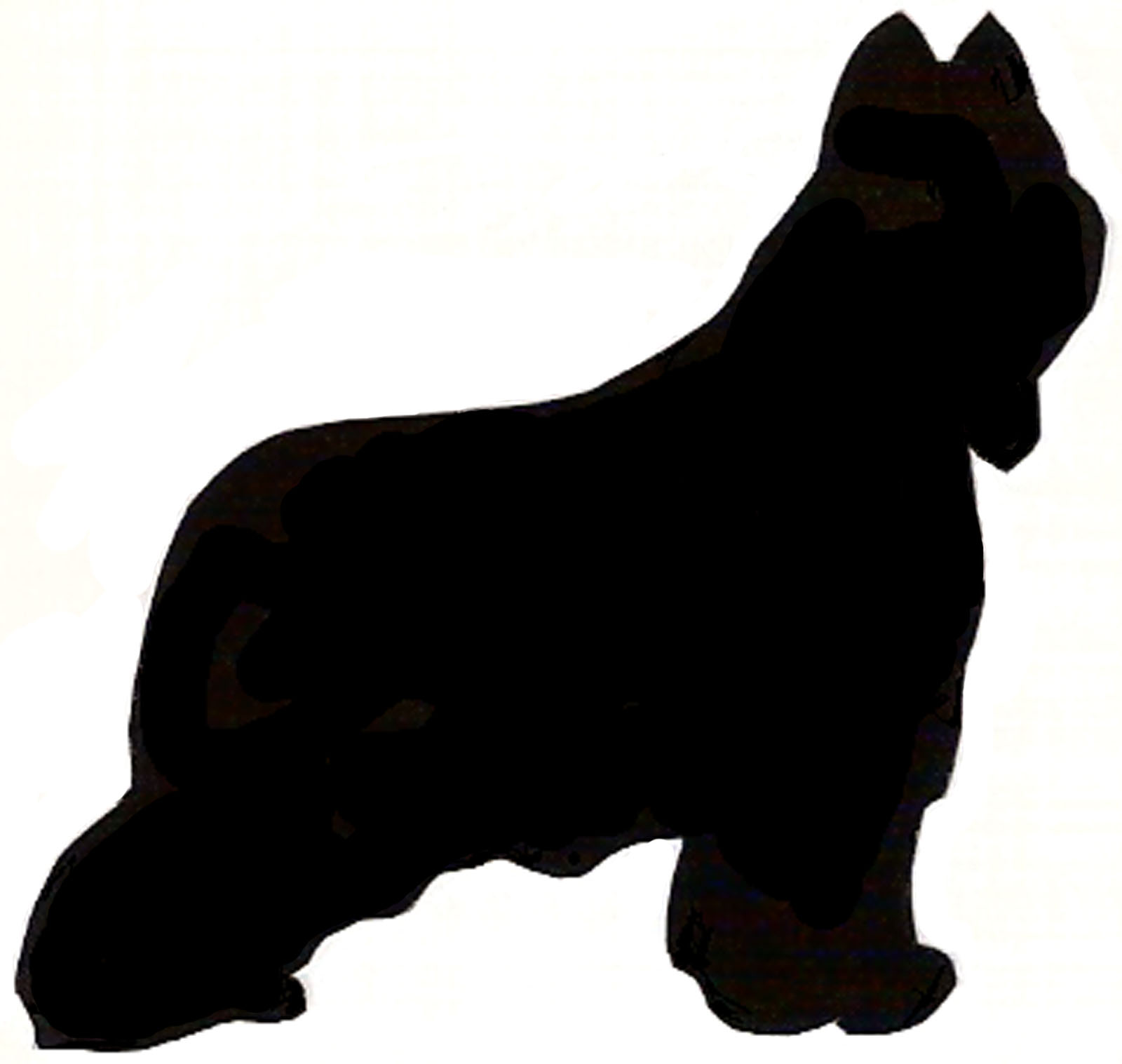 1600x1517 Collie Silhouette Clip Art