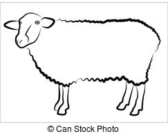 243x194 Sheep Silhouette Vector Clipart Eps Images. 3,313 Sheep Silhouette