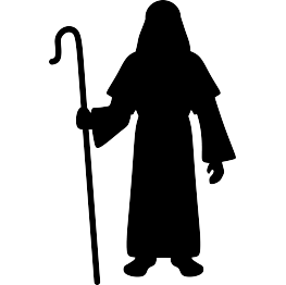 263x262 Shepherd Silhouette Hirtenschafe Silhouettes