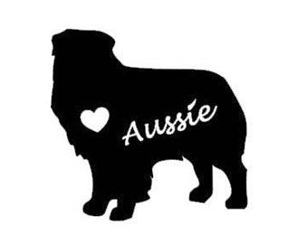 340x270 Aussie Silhouette Etsy