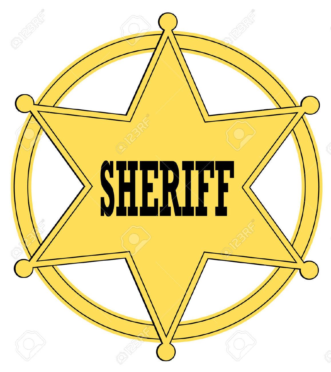 sheriff badge silhouette at getdrawings com free for personal use rh getdrawings com sheriff badge clip art free Sheriff Badge Outline
