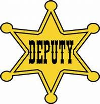 graphic relating to Printable Sheriff Badge referred to as Sheriff Star Silhouette at  No cost for