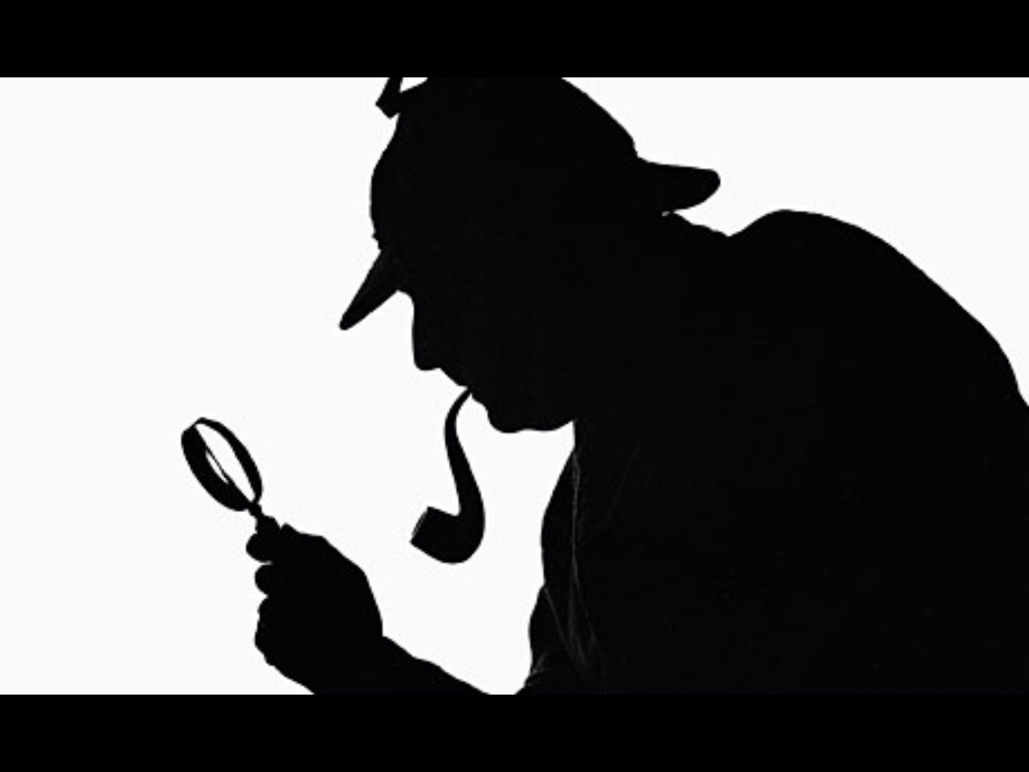 2048x1536 Sherlock Holmes Silhouette Drawing Sherlock Holmes