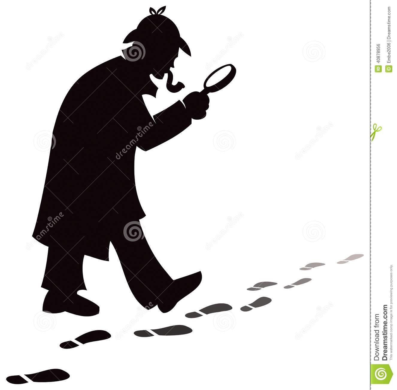 1326x1300 Silhouette Clipart Detective