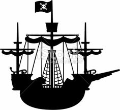 236x215 Pirate Ship Drawings Silhouette Clip Art