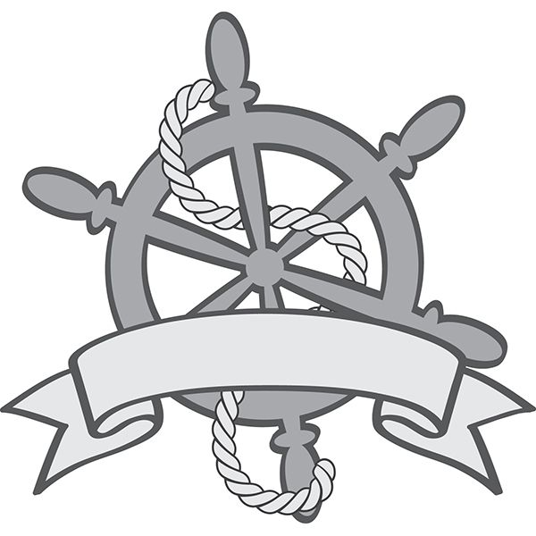 600x600 Ship Wheel Crusin' Ship Wheel