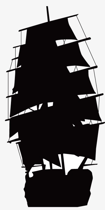 345x690 Silhouette Of Ship Modeling, Sailboat, Ferry, Sketch Png