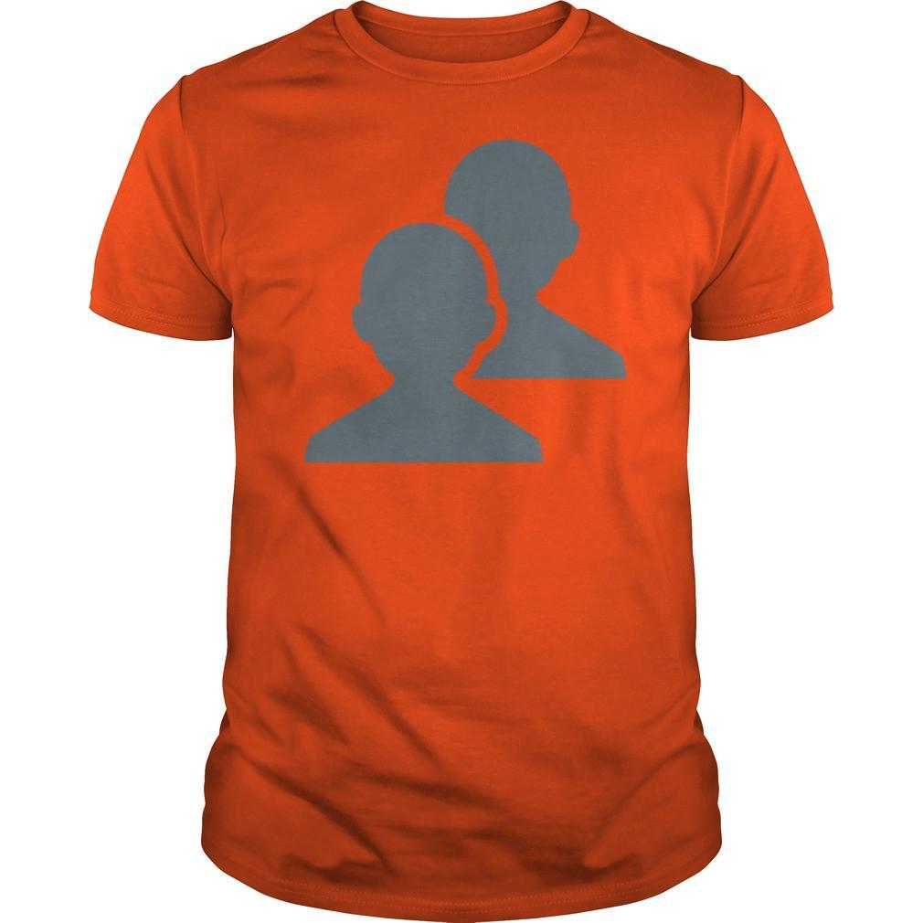 1010x1010 Busts In Silhouette Emoji T Shirt