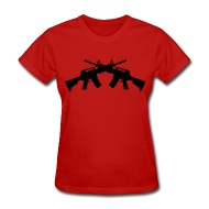 190x190 Assault Rifle X2 Silhouette By Poisonbottleclothing Spreadshirt