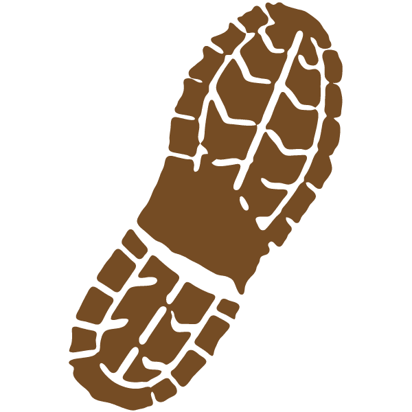 shoe print silhouette at getdrawings com free for personal use rh getdrawings com  army boot print clip art