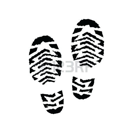 450x450 Images Of Shoe Print Template Blank Sneaker Coloring Page Print