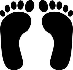 235x227 Simple Shoe Prints Svg Vector File, Vector Clip Art Svg File