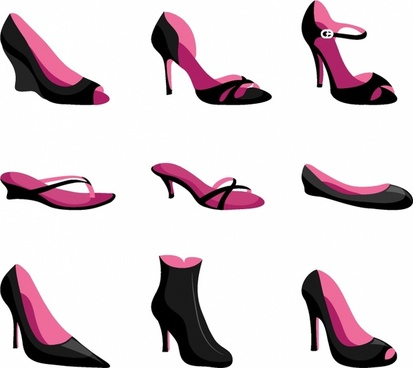 413x368 Shoe Silhouette Free Vector Download (5,724 Free Vector)