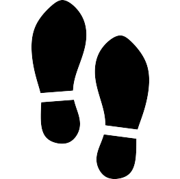 shoe silhouette clip art at getdrawings com free for personal use rh getdrawings com shoe print clip art black and white tennis shoe print clip art