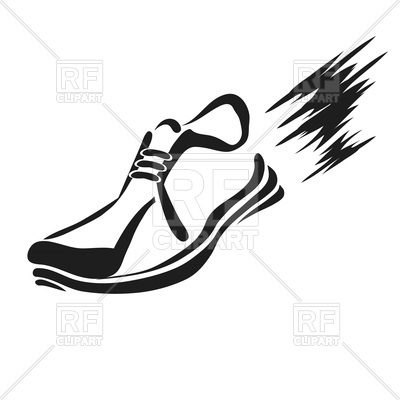 shoe silhouette clip art at getdrawings com free for personal use rh getdrawings com running shoes free clipart running shoe clipart images