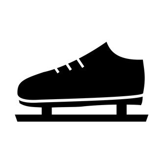 340x340 Free Silhouette Vector Skate, Sports, Winter