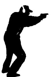 188x269 Resultado De Imagen Para Silhouette Of Skeet Shooting Siluetas