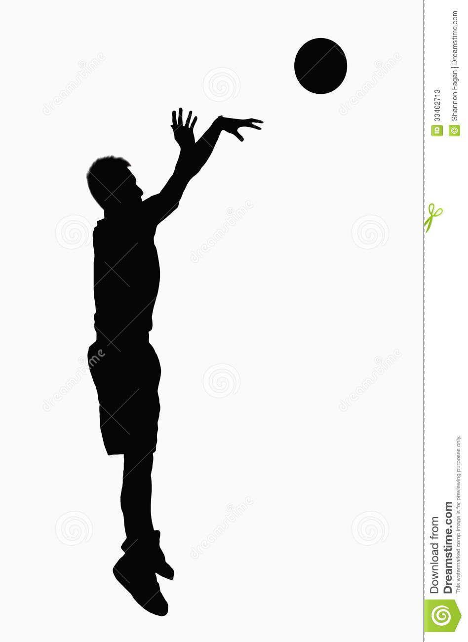 948x1300 Basketball Shooter Silhouette