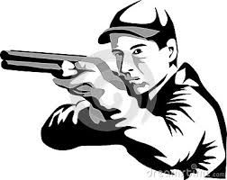 252x200 Resultado De Imagen Para Silhouette Of Skeet Shooting Siluetas