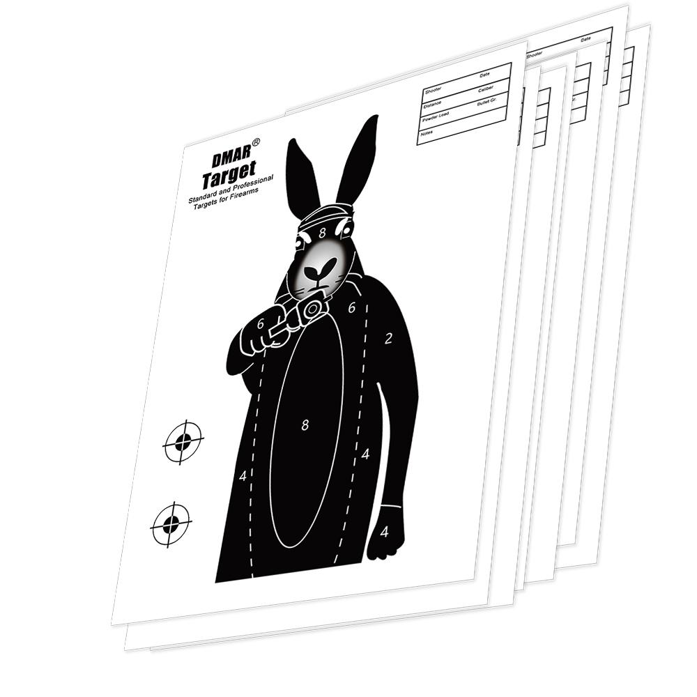 1000x1000 Dmar 2050100pcs 42cm Shooting Targets Paper Rabbit Silhouette