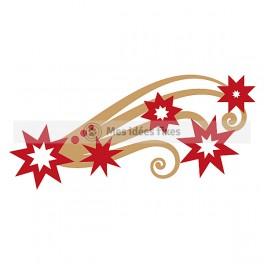 264x264 Shooting Star Silhouette Cut File Cute Ideas Star