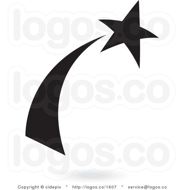 600x620 Black Shooting Stars Clipart Clipart Panda