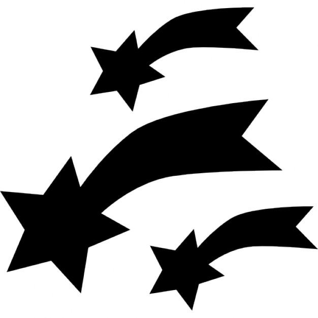 626x626 Shooting Stars Icons Free Download