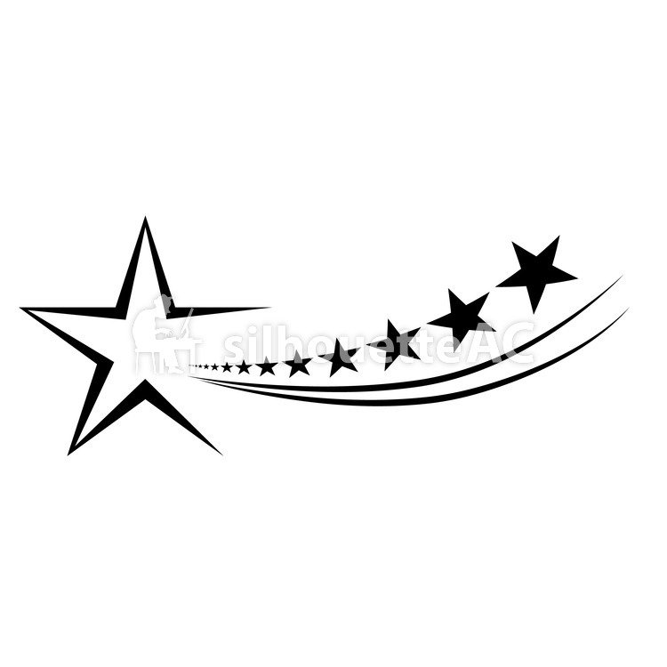 750x750 Free Silhouette Vector Star, Tiny