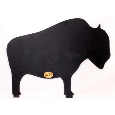 400x400 Large Buffalo Steel Shooting Target For Silhouette Stand