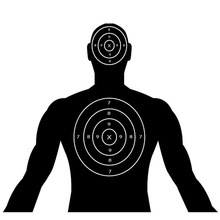 220x220 Silhouette Shooting Targets, Silhouette Shooting Targets Suppliers