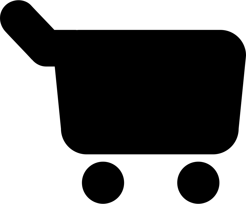 980x814 Shopping Cart Black Silhouette Rounded Variant Svg Png Icon Free
