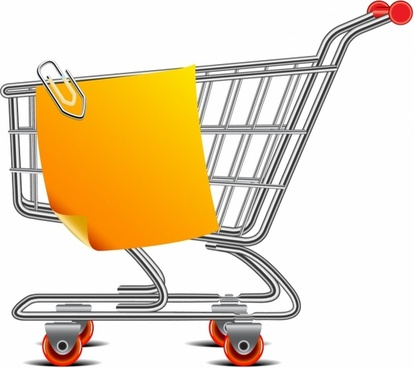 414x368 Shopping Cart Silhouette Free Vector Download (6,933 Free Vector