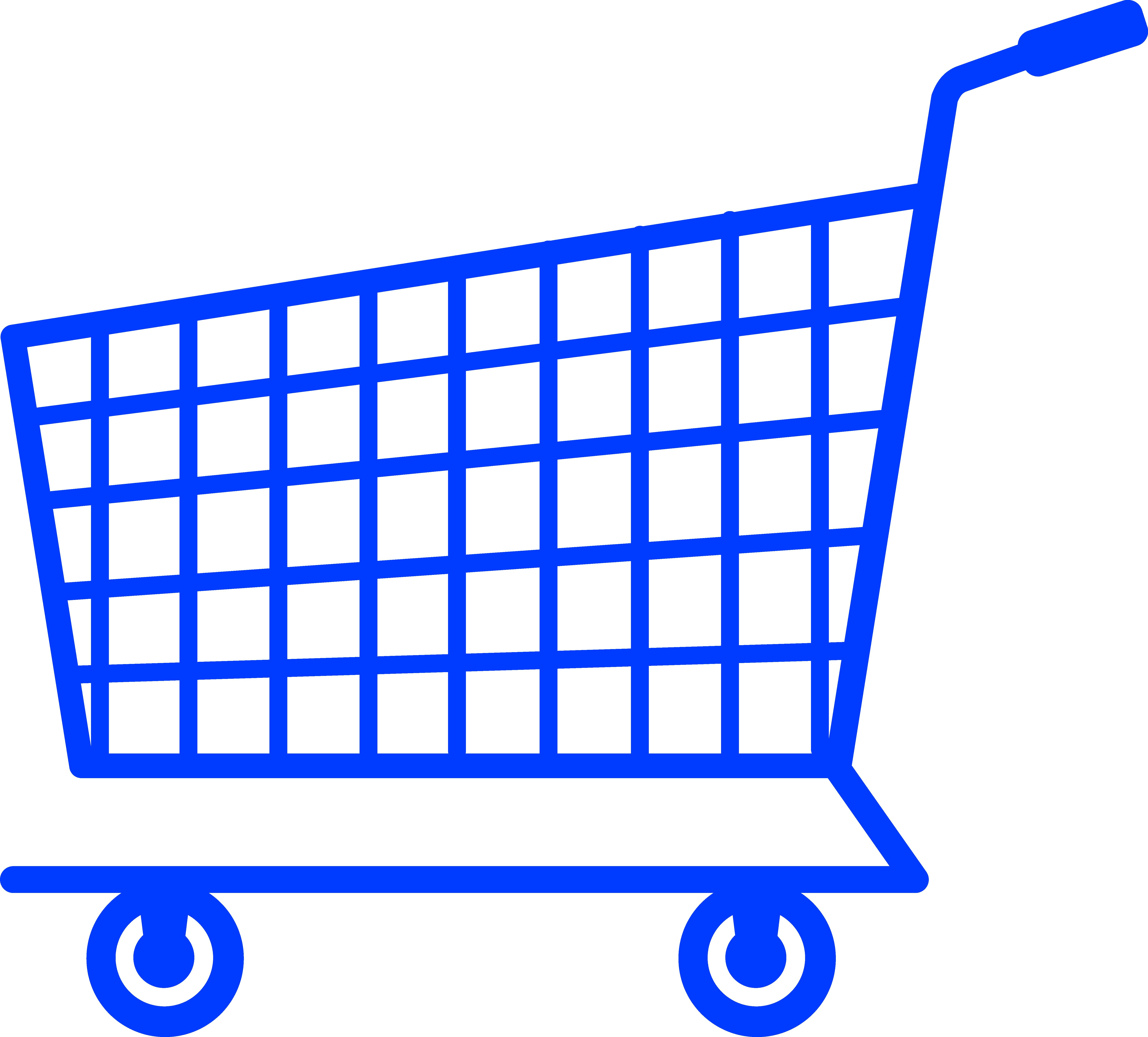 6421x5801 Black Shopping Cart Silhouette Free Clip Art Chainimage
