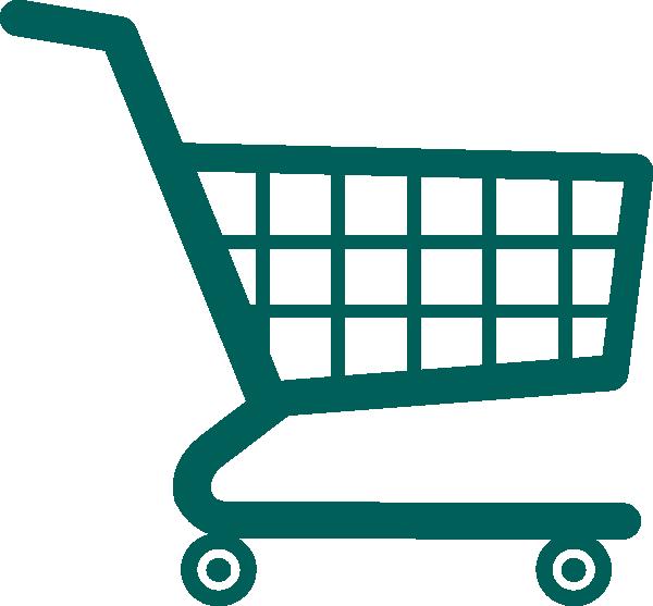 600x557 Empty Shopping Cart Clip Art