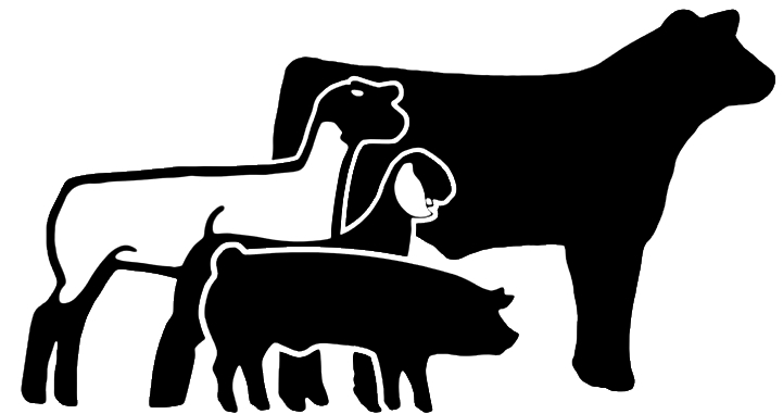 show cattle silhouette at getdrawings com free for personal use rh getdrawings com 4-H Clover Livestock Animals