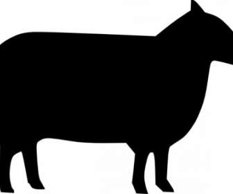 336x280 Farm Animal Silhouette Collection Vector Silhouettes Free Vector