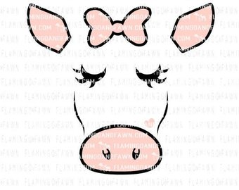 340x270 Cow Face Etsy