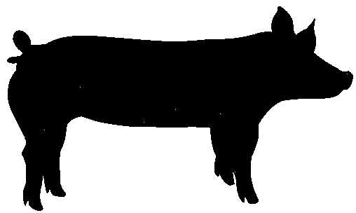508x304 4 H Beef Silhouette Clipart Cliparthut