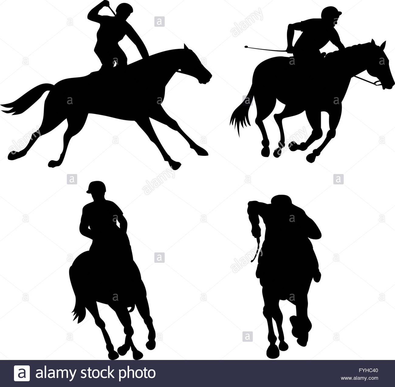 1300x1274 Equestrian Show Silhouette Stock Photo, Royalty Free Image