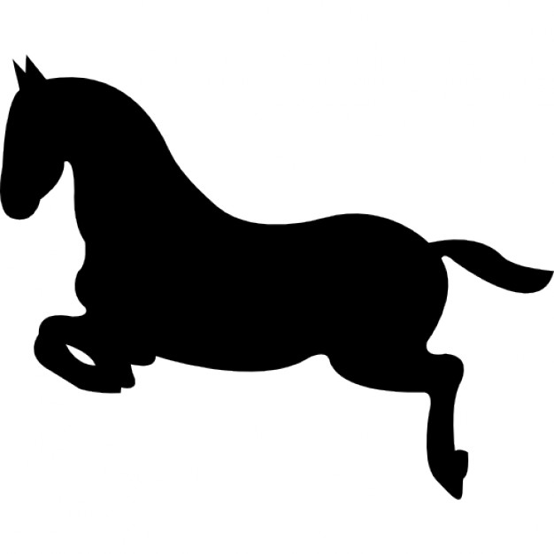 626x626 Horse Jump Silhouette Icons Free Download