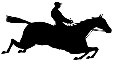 400x219 Jumping Horse Silhouette