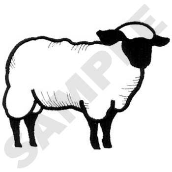 Show Lamb Silhouette