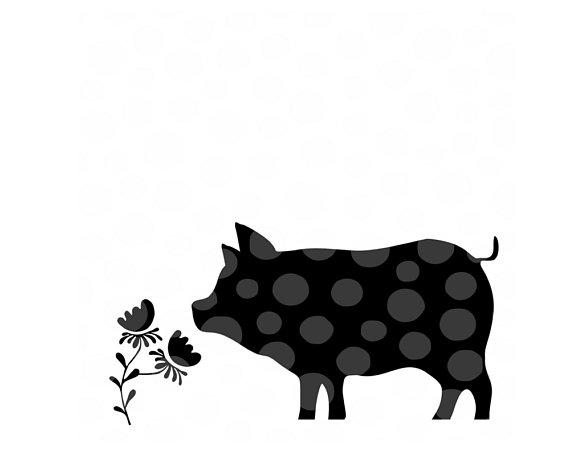 570x459 Pig Svg, Png, Pdf, Show Pig Svg, Pigs, Svg Files, Flourish Svg