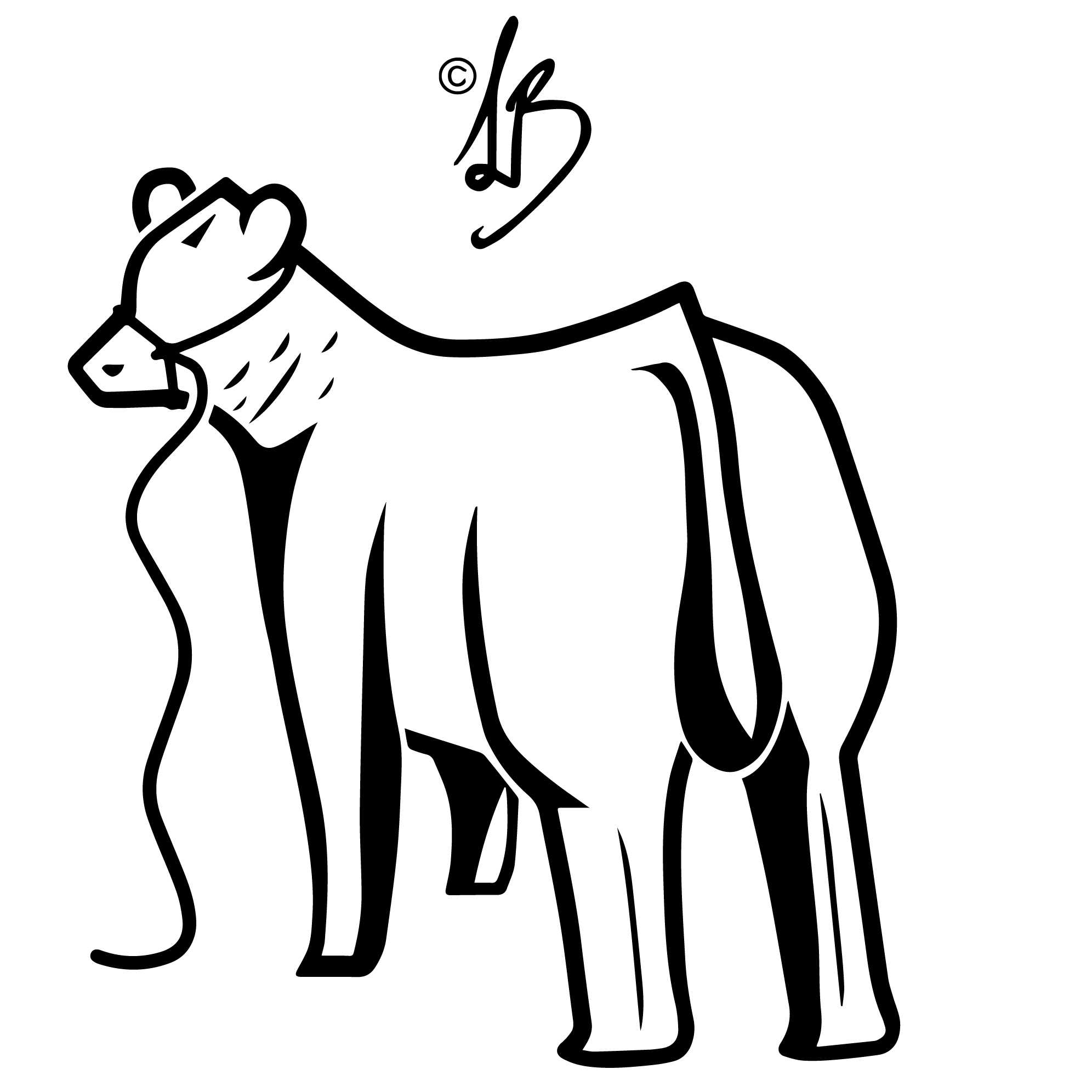 show steer silhouette at getdrawings free for personal use Steer Head 1992x1992 steer design contest the showtimes junior livestock magazine