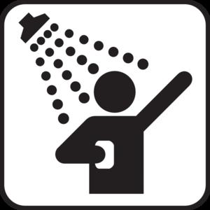 300x300 Shower Clip Art