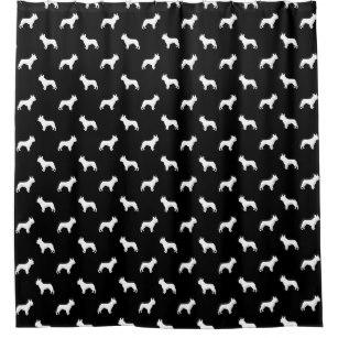 307x307 Silhouette Shower Curtains Zazzle