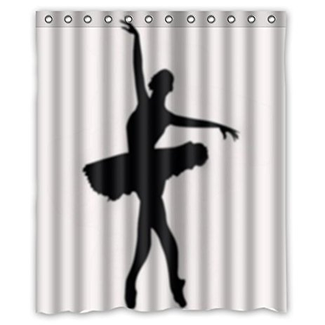 463x463 Special Silhouette Shadow Shower Curtain