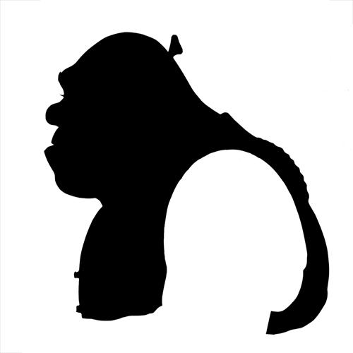 Shrek Silhouette