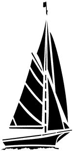150x311 Simple Silhouette Of A Sailboat Craft Ideas