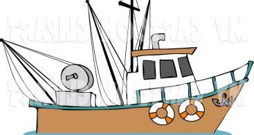 367x195 Boat Clipart Deep Sea Fishing